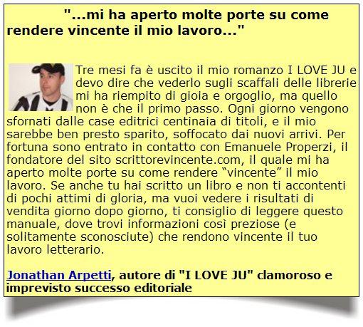 """Arpetti - Testimonianza sui """"109 Segreti..."""" di Properzi"""