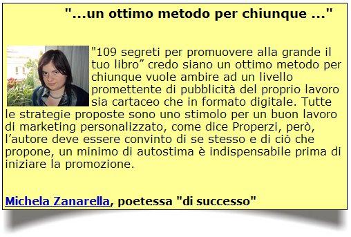 """Zanarella - Testimonianza sui """"109 Segreti..."""" di Properzi"""