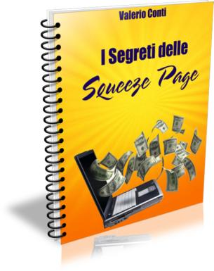 I Segreti delle Squeeze Page di Valerio Conti presentati su ScrittoreVincente