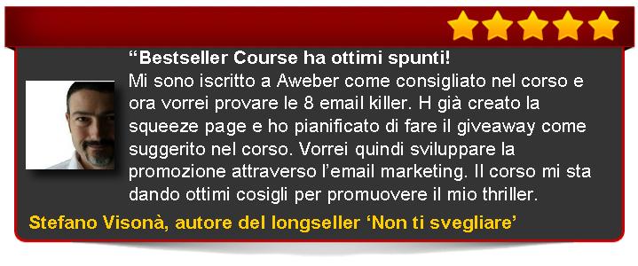 Bestseller Course Premium Edition di Emanuele Properzi recensione di Visonà