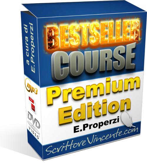 Bestseller Course Premium Edition di Emanuele Properzi corso di marketing editoriale