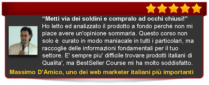 recensione di Bestseller Course Premium Edition di Emanuele Properzi a cura di Massimo D'Amico