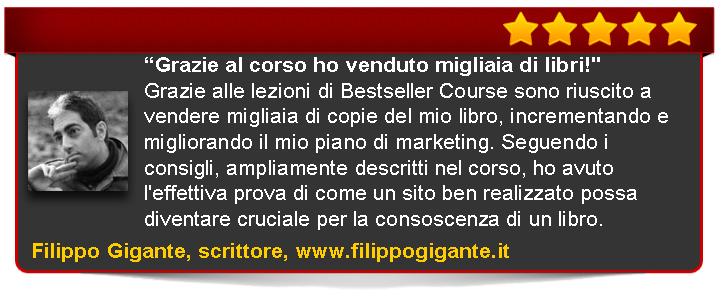 Filippo Colizza recensione di Bestseller Course Premium Edition di Emanuele Properzi