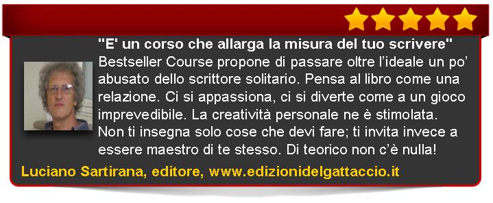 Bestseller Course Premium Edition di Emanuele Properzi recensione Sartirana editore