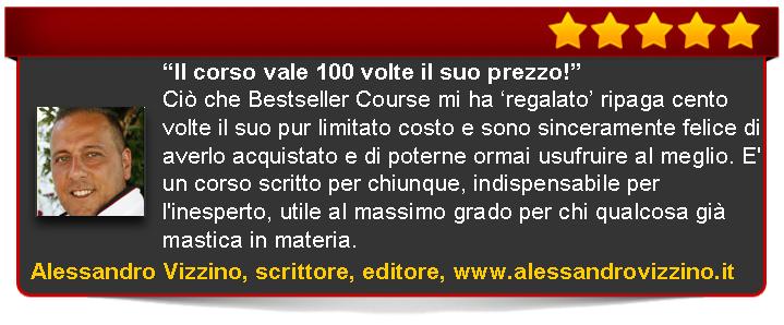 recensione di Bestseller Course Premium Edition di Emanuele Properzi Vizzino