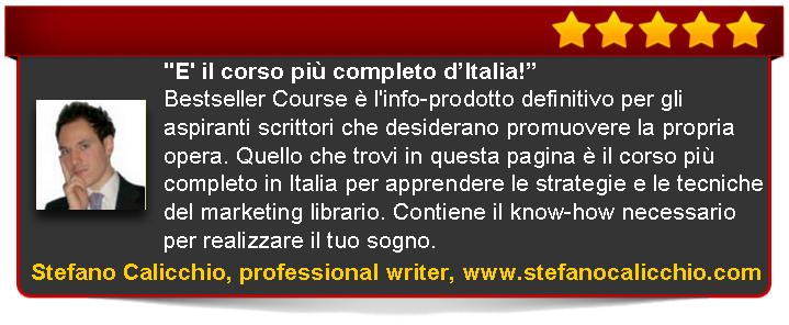 recensione di Bestseller Course Premium Edition di Emanuele Properzi a cura  Stefano Calicchio