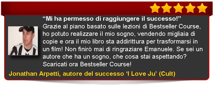 recensione Arpetti di Bestseller Course Premium Edition