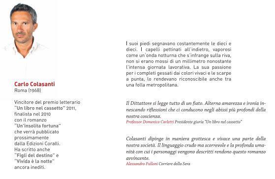Biografia Carlo Colasanti