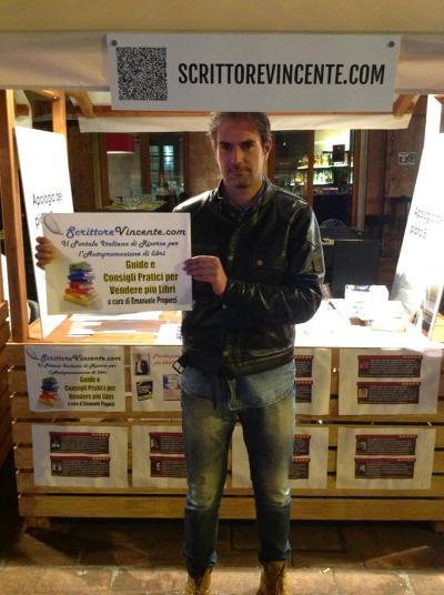 Emanuele-Properzi-ScrittoreVincente-stand-ISPF-Senigallia
