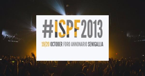 ISPF SENIGALLIA 2013