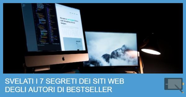 SEGRETI SITI WEB SCRITTORI DI SUCCESSO