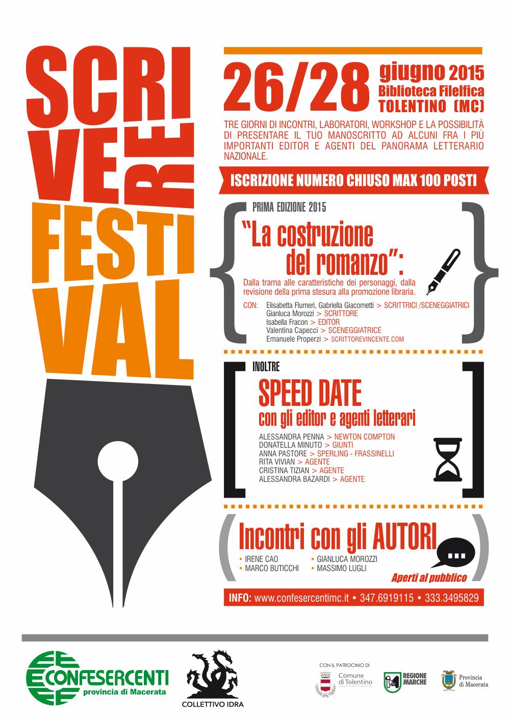 Scrivere Festival Tolentino