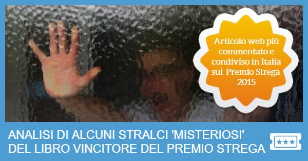 Scandalo al Premio Strega con Nicola Lagioia e La Ferocia