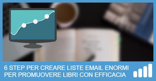 Come Creare una Mailing List per Promuovere Libri (in 6 Step)