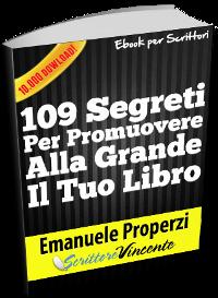 109 segreti per promuovere libro