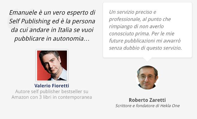 Recensioni Fioretti Zaretti Self Publishing Vincente