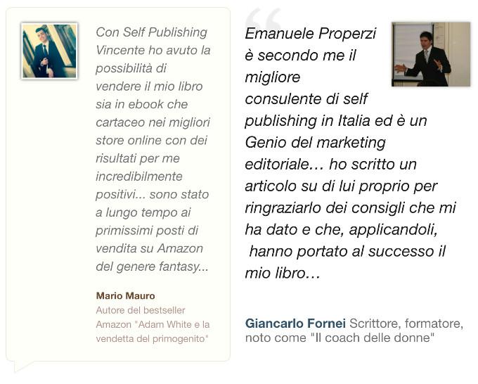mauro fornei recensione self publishing vincente