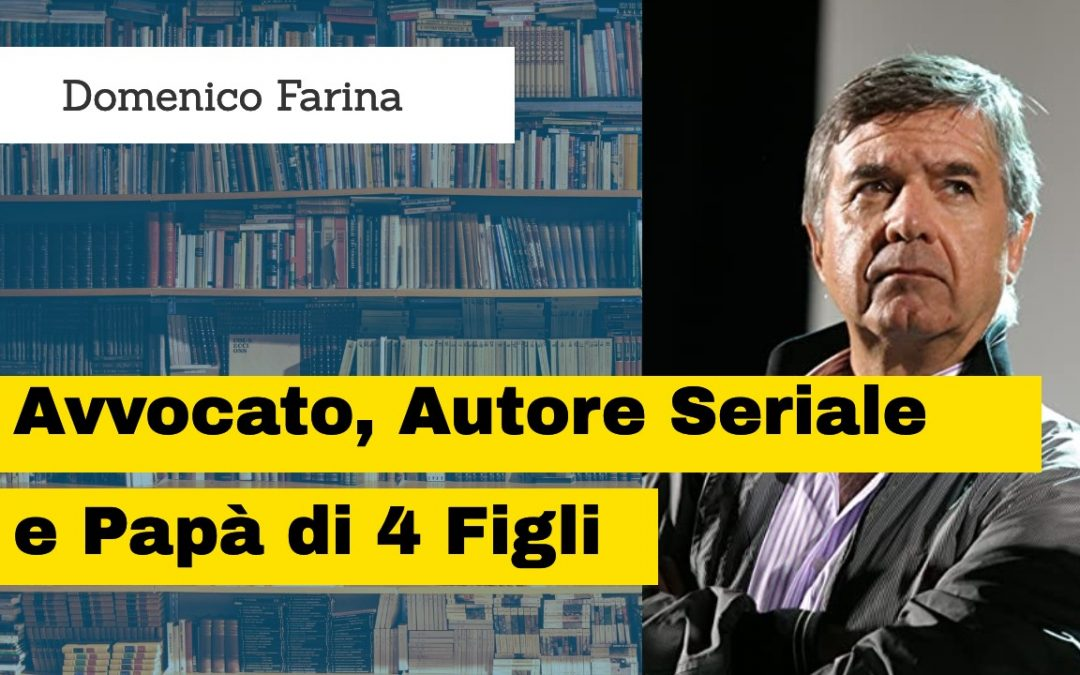 L'Avvocato Domenico Farina autore di 3 libri con Self Publishing Vincente