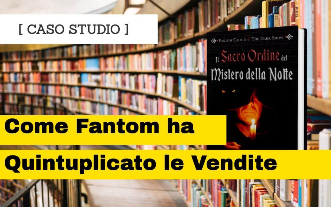 Ecco come Fantom Caligo ha quintuplicato le vendite del suo libro fantasy