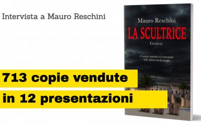 Mauro Reschini vende 713 copie in 12 presentazioni