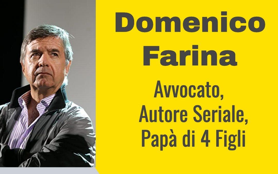 L'Avvocato Domenico Farina autore di 3 libri con Self Publishing Vincente