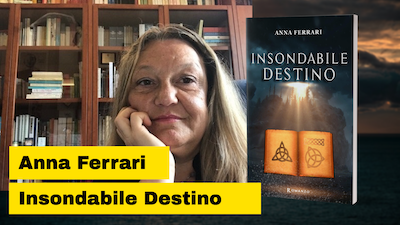 Anna Ferrari autrice di Insondabile Destino e la dolce paura di promuoversi